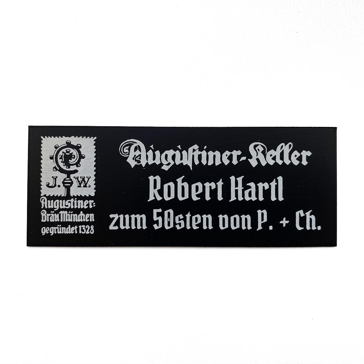 DuraBlack Schild Augustiner