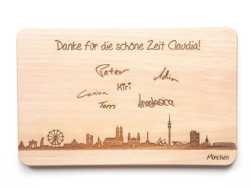 Produkte mit gravierter Unterschrift - Lasergravur-München.de