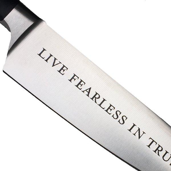 Messer mit Gravur