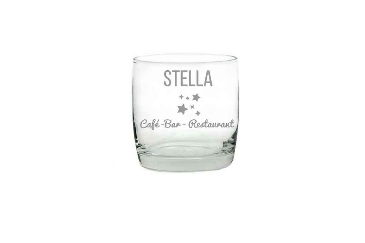 Whiskeyglas mit Gravur