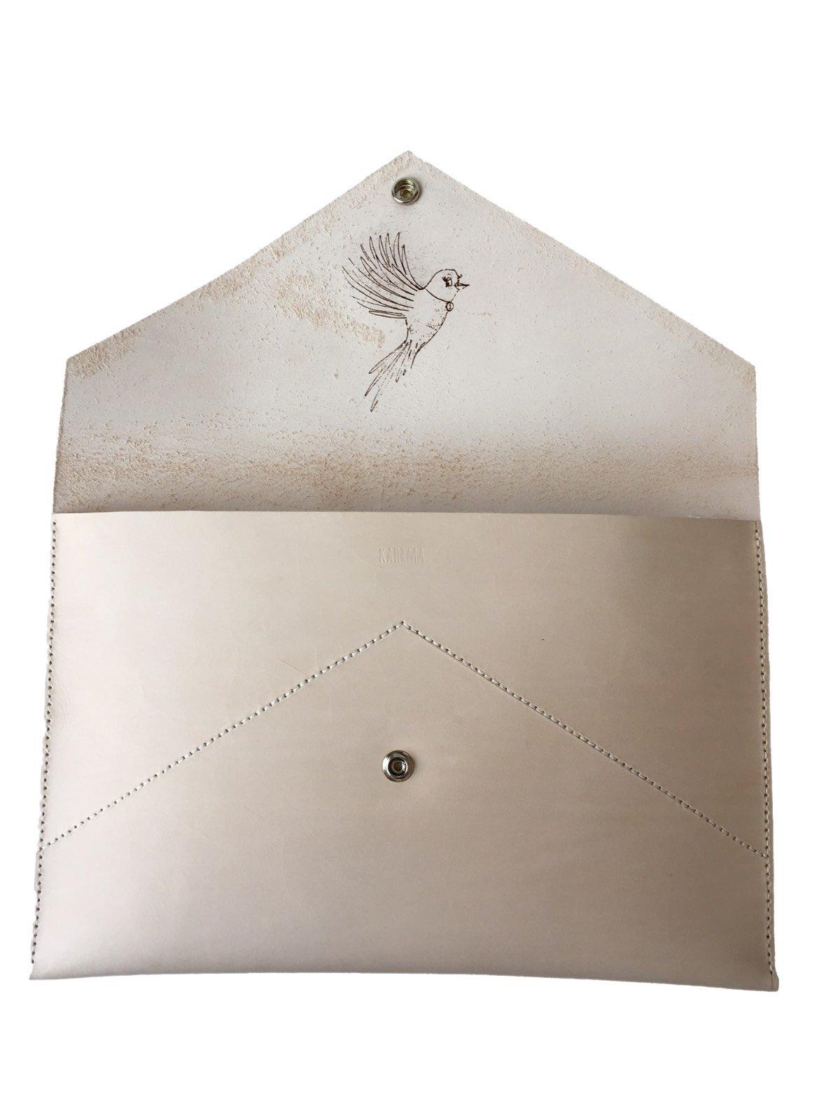 Notebooktasche aus Leder
